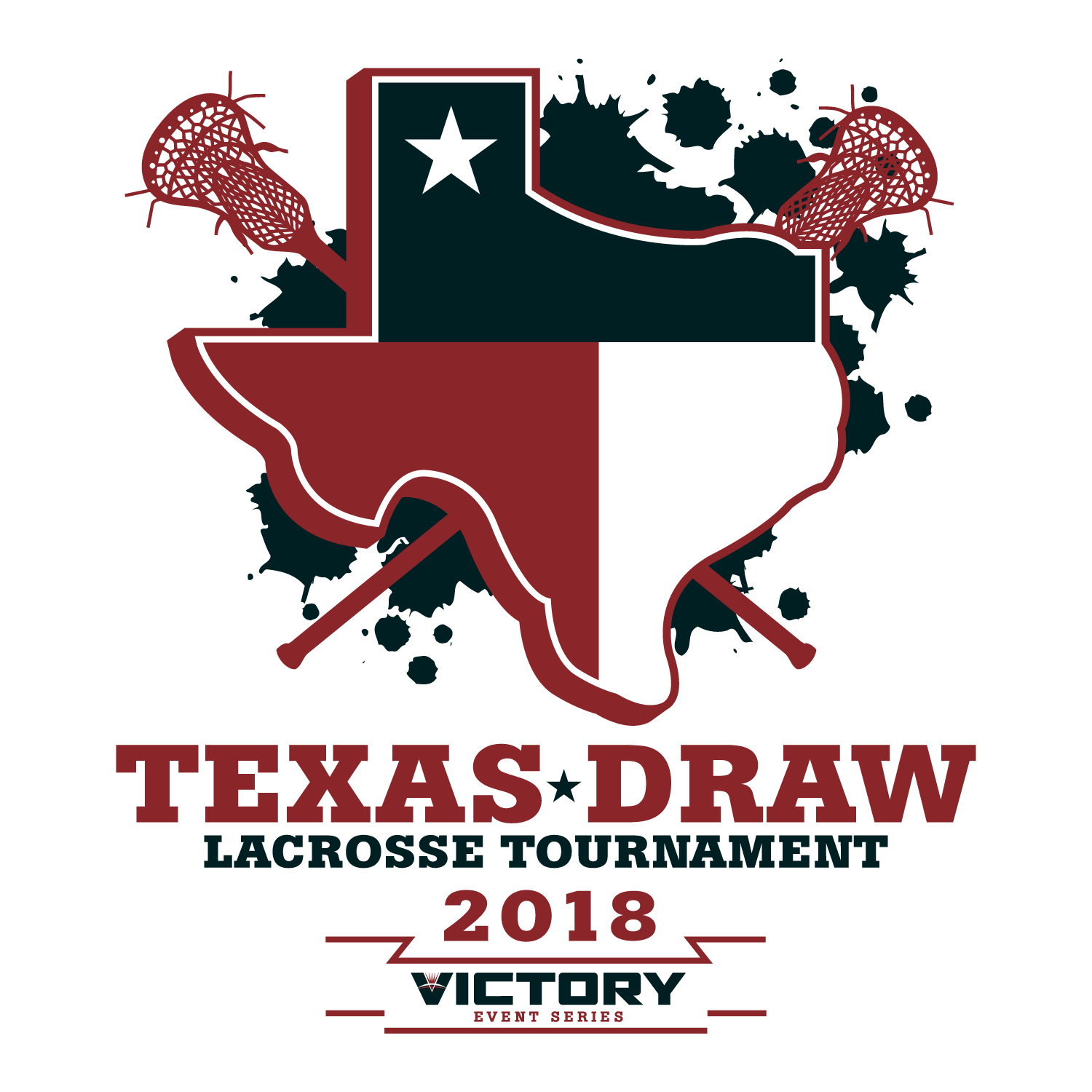 Texas Draw Lacrosse Tournament 2018 Logo