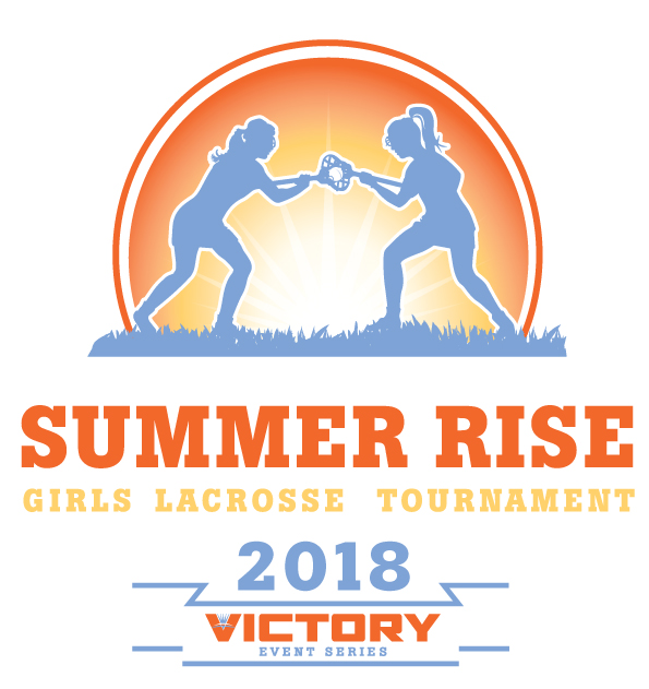 Summer Rise Lacrosse Tournament 2018 Logo