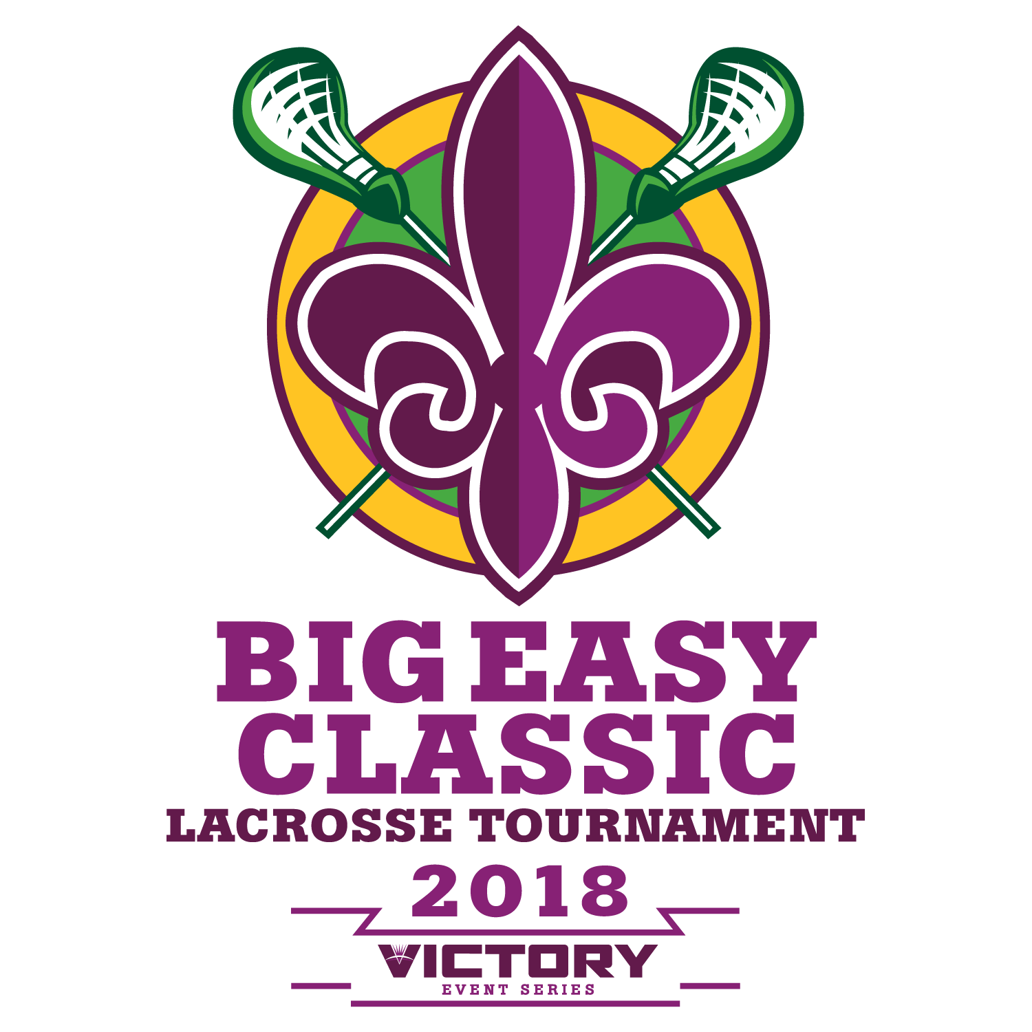 Big Easy Classic Lacrosse Tournament 2018 Logo