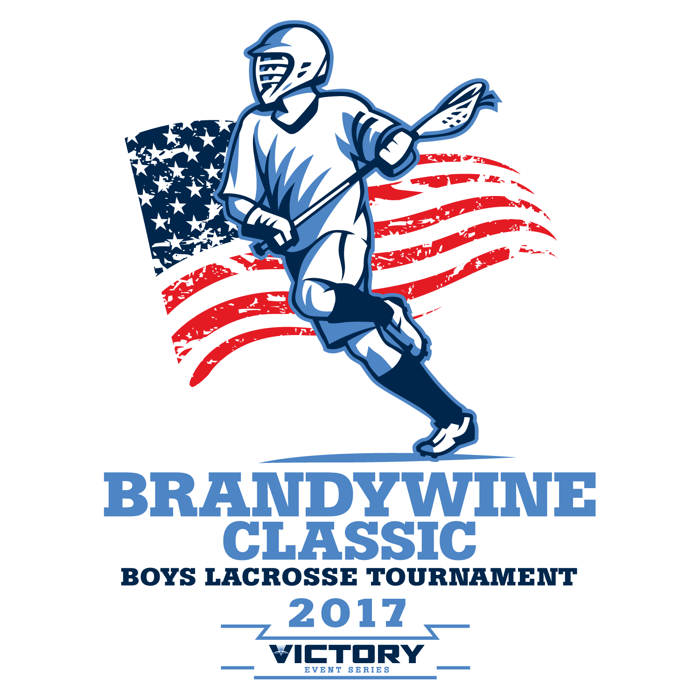 Boys Brandywine Classic Lacrosse Tournament 2017 Logo